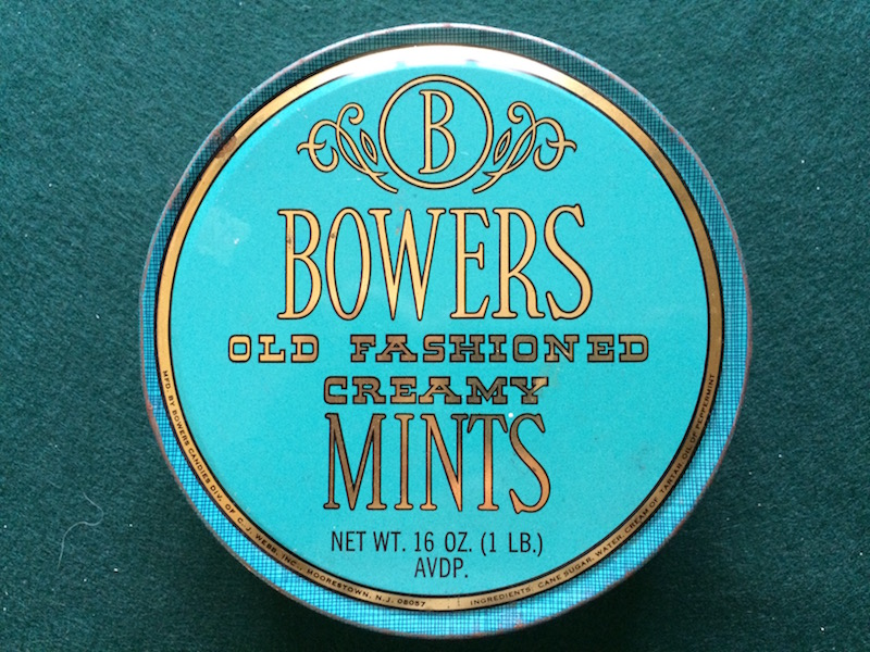Bowers Candy Tin