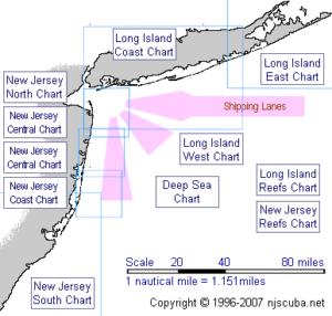 Dive Sites & Shipwrecks New Jersey Scuba Diving